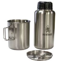 Pathfinder Stainless Steel Bottle Cooking Kit